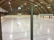 Hockey Arena in Debden, Inside