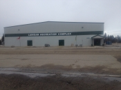 Hockey Arena in Lanigan, Outside