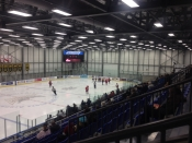 Hockey Arena in Regina, Inside