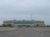 Hockey Arena in Saskatoon, Outside