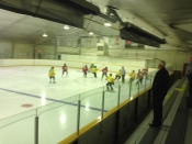 Hockey Arena in Warman, Inside